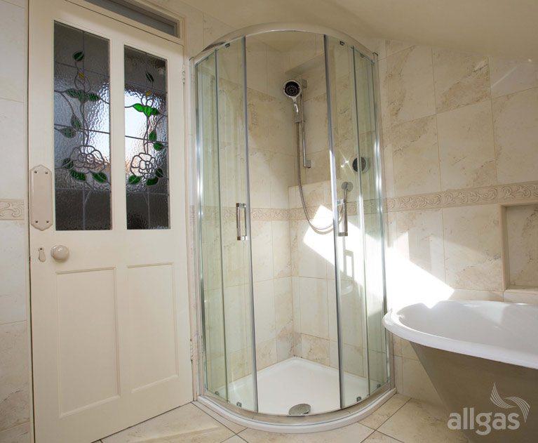 Traditional Modern Bathrooms traditional bathroom installation killester | allgas bathrooms